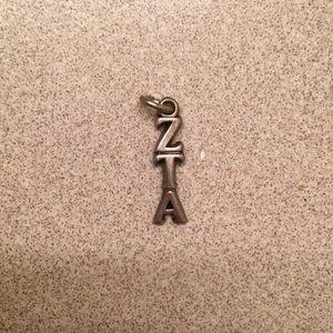 Zeta tau alpha charm for necklace